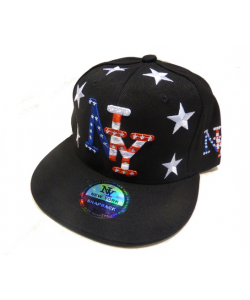 Casquette NY strass
