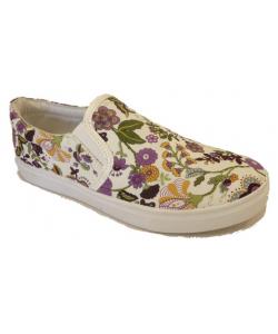 Basket femme flowers