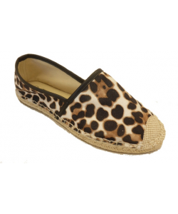 Espadrille léopard