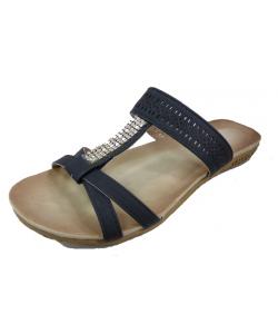 Sandale strass femme