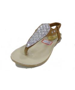 Sandale ethnik strass