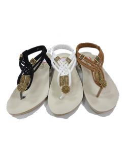 Sandale ethnik glam