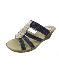 Sandale à talon bijou