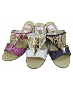 Sandale à talon chic