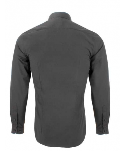 Chemise petit col noir