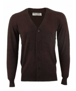 Cadigan homme marron