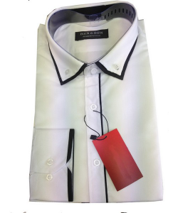 Chemise fashion bi-color