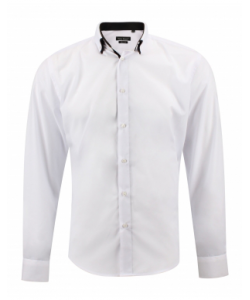 Chemise fashion double col