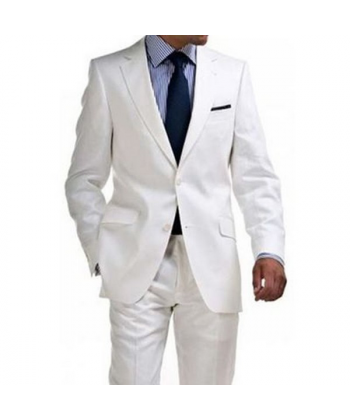 Costumes Blanc matte
