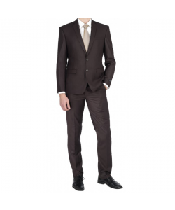Costumes homme marron fonce