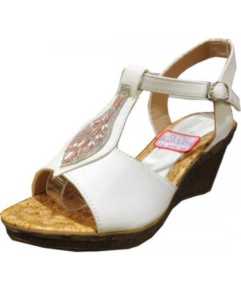 Sandale compensé diams