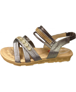 Sandale Lanière strass