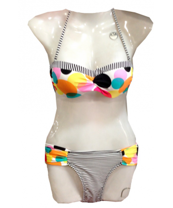 Bikini femme a pois