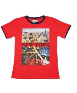 T-shirt N.Y Music