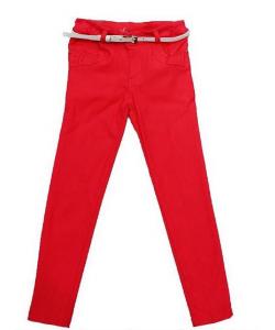 Pantalon style chino fille
