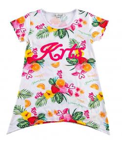 T-shirt long fruité fashions