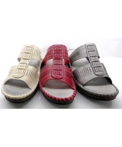 sandale mule cuir