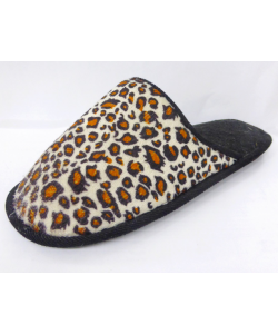 Chausson léopard