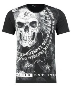 T shirt tête de mort JACKSON