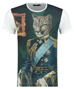 T shirt panthère