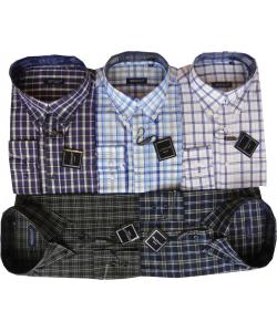 Chemise à carreau col américain