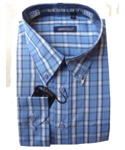 Chemise grand carreau
