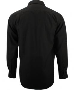 Chemise damier noir