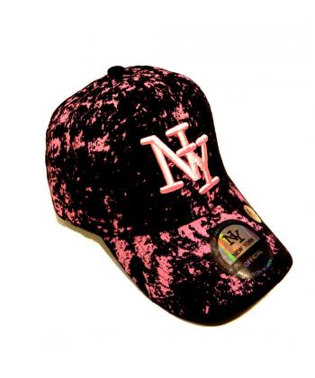 Style classique thésaurisation comme une denrée rare commander en ligne Casquette NY pikasso rose
