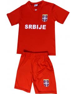 Ensemble foot Serbie