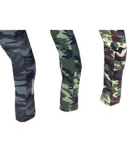 Leggings militaire zippé