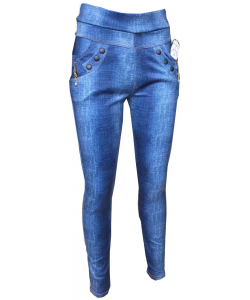Jeggings poche tendance
