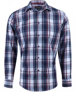 Chemise slim à carreau