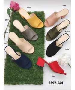 Sandale talon tendance