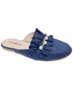 Mocassin ouvert perle