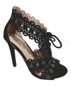 Sandale talon à lacet