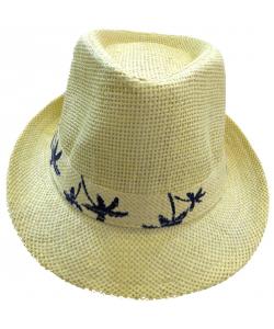 Chapeau mixte palmier