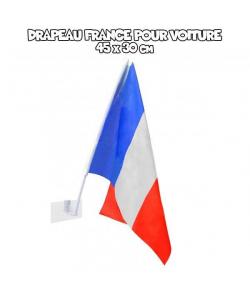Drapeau auto supporter France