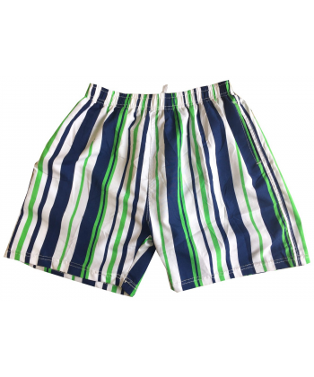 Maillot short enfant rayer