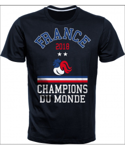 Tshirt H France 2 etoiles