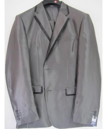 Costume cintr gris fonc - Costume gris fonce ...