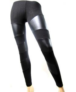 Legging simili cuir