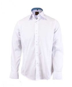 Chemise fashion slim blanche