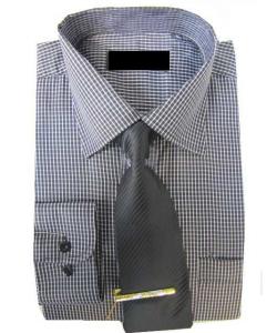 Coffret chemise carreau