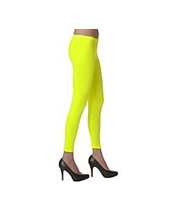 Legging jaune fluo