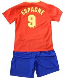 Ensemble foot Espagne
