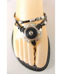 Tong fashion avec perle