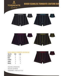 Boxer TORRENTE rayures seamless