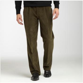 Lot de pantalon en velour cotelé