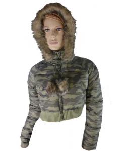 Doudoune militaire femme