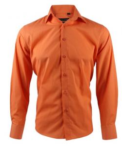 Chemise Orange Classic